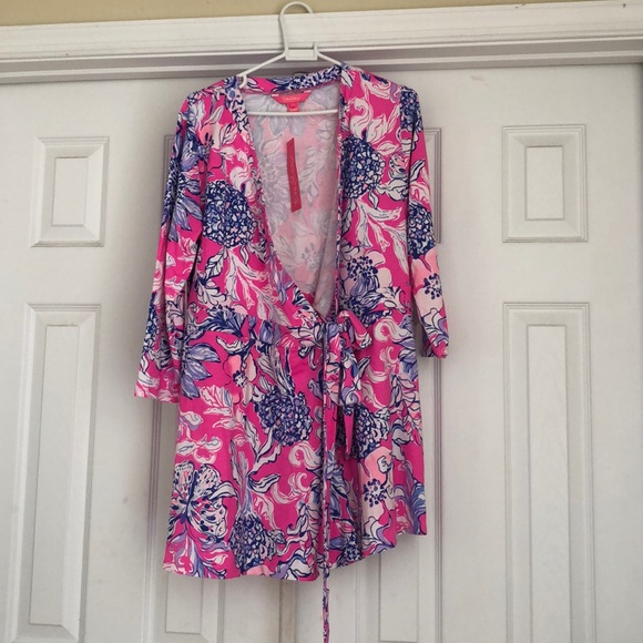 Lilly Pulitzer Other - Lilly Pulitzer Karlie wrap romper
